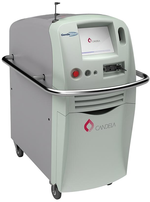 レーザー治療機器 アレキサンドライトレーザ― + Nd:YAG(エヌディーヤグ)レーザー