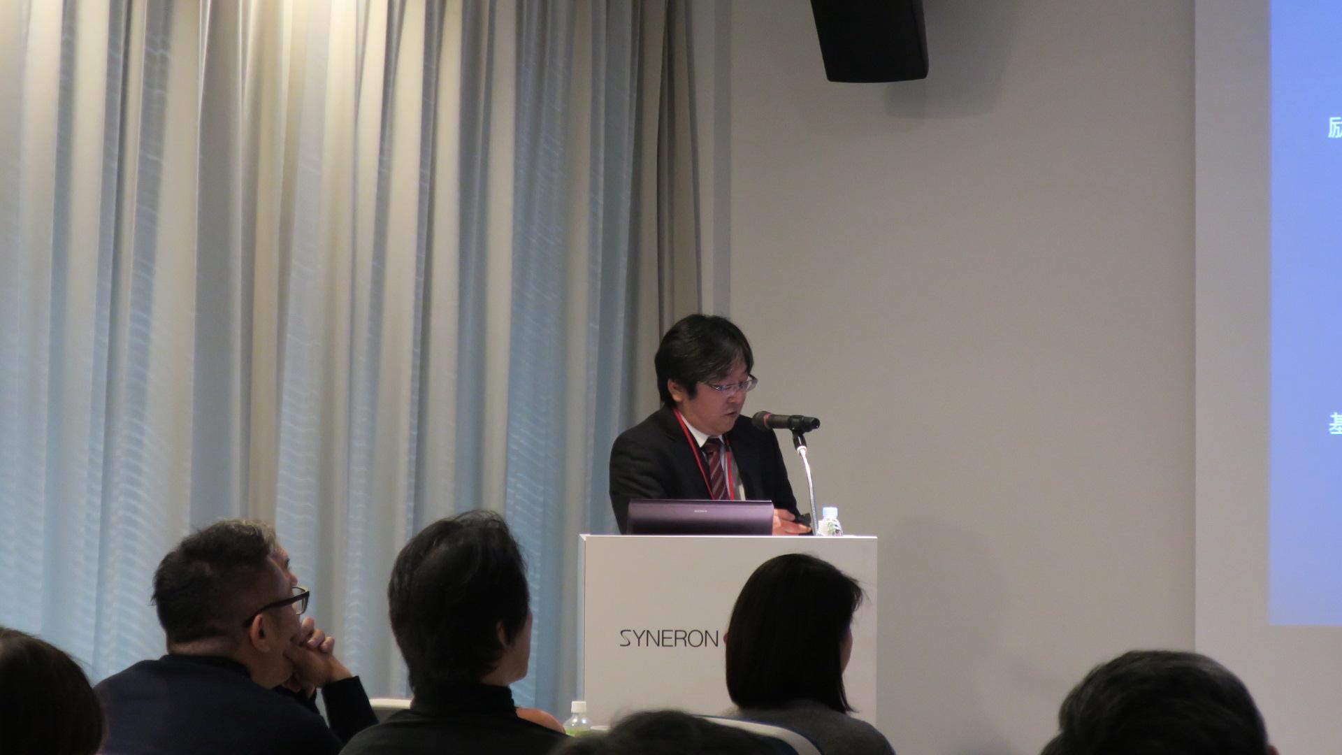 シネロンキャンデラ社にて行なわれた院長の講演